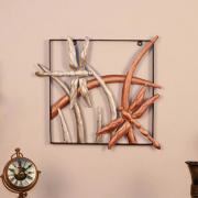 Multicolour Metal Dragon Fly Wall Hanging