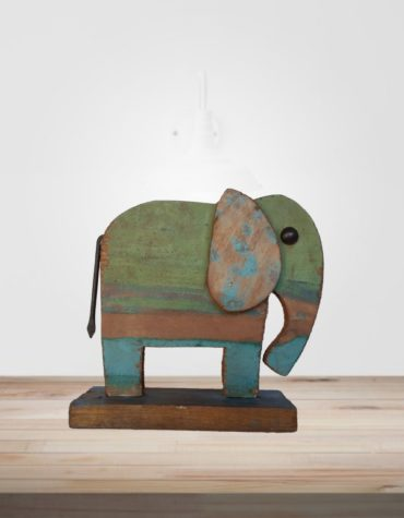 Recycled Scrap Wood Elephant