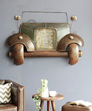 Brown Iron Gadee Hanging Wall Decor By Kraphy
