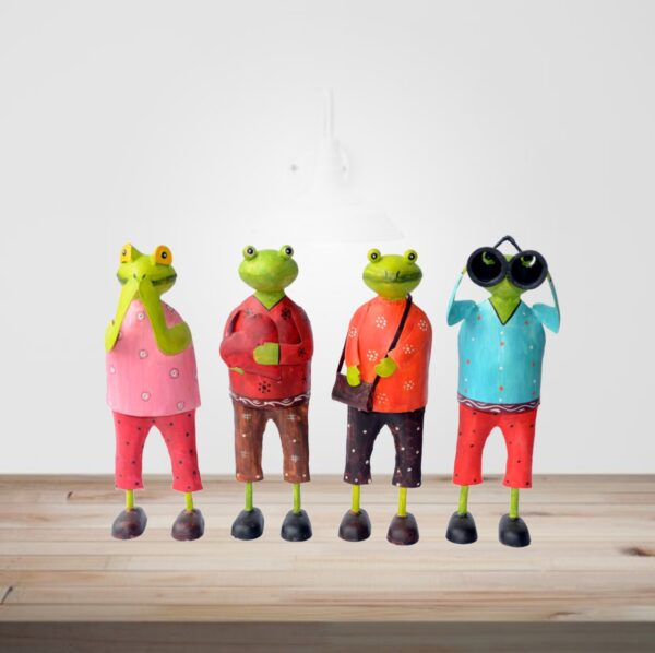 Frog-Camera-Man-Style-set-of-four