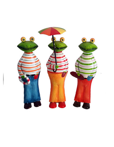Frog-Umbrella-Style-Set-Of-Three-piece