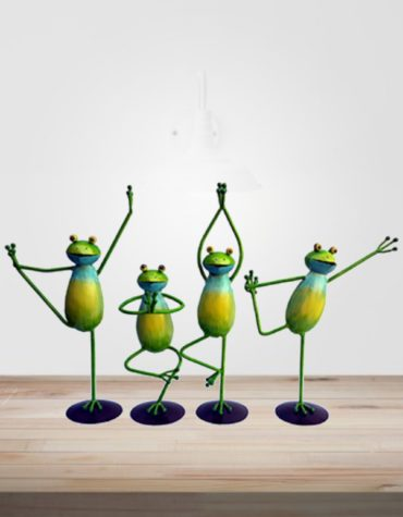 Yoga-Frog-Set-OF-Four-Piece