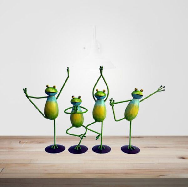 Yoga-Frog-Set-OF-Four-Piece