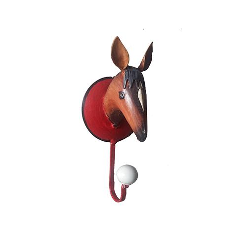 Horse wall hook