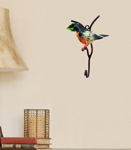 orange-and-black-birds-hook-wall-hanging-decor