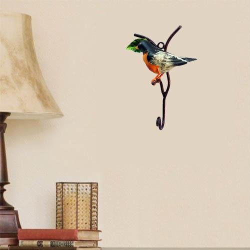 orange-and-black-birds-hook-wall-hanging-decor