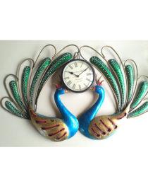 Peacock Watch Wall Panel