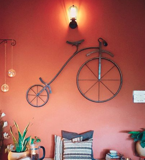 Buy Brown Metal Ancient Wheels Wall Hanging Online Metal Wall Art Wall Art