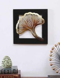 Metal Leaf Wall Hanging