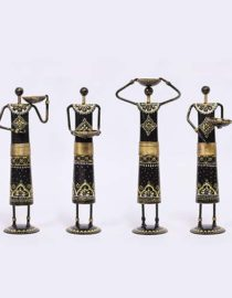Buy Iron Painted Ethnic Doll Set of 4 Online at lowest price India