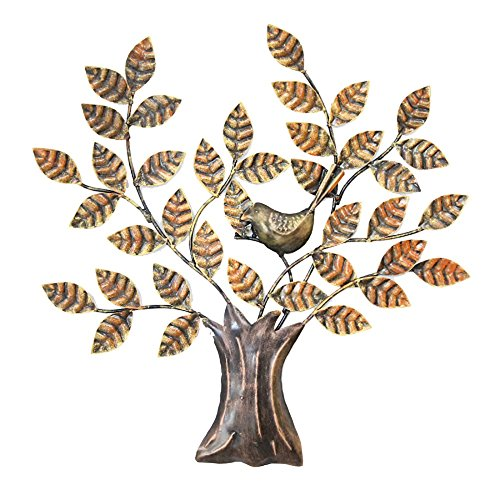 Handcrafted Iron Wall Hanging - Tree Design
