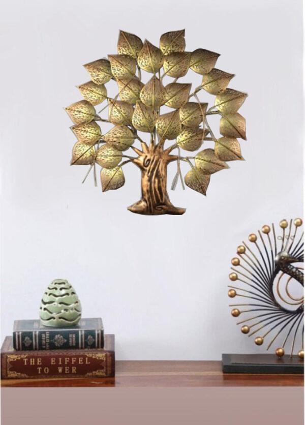 Beautiful Led Light Wall Hanging Iron Tree