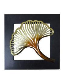 black-gold-mdf-metal-anaya-leaf-wall-hanging-kraphy-jodhpur