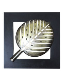 black-gold-mdf-metal-sara-leaf-wall-hanging-by-kraphy