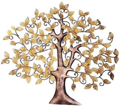 Elegant Iron/Metal Handicraft Wall Decor/ Wall Hanging Tree Of Knowledge/Tree Of Wisdom Online at Low Prices in India