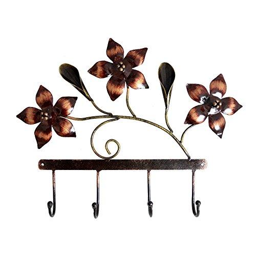 Handmade Decorative Gift Item Flower Style Wall Hook Hanger