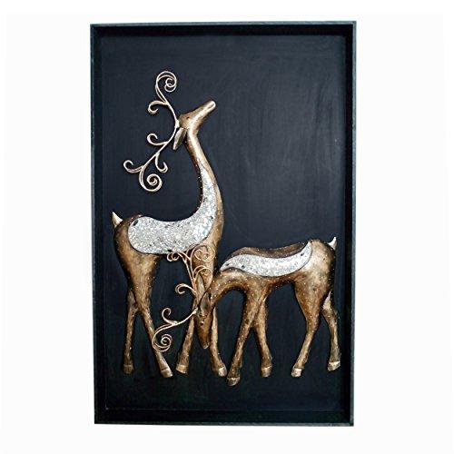 Deer Couple 3D Wall Hanging Frame Wall Decor 3