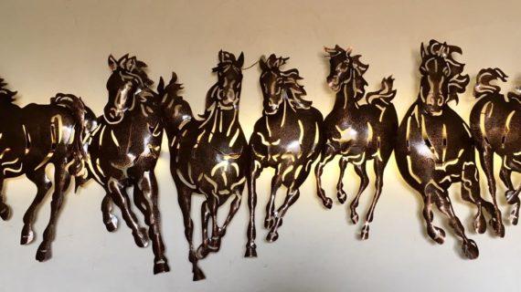 Seven Running Horse
