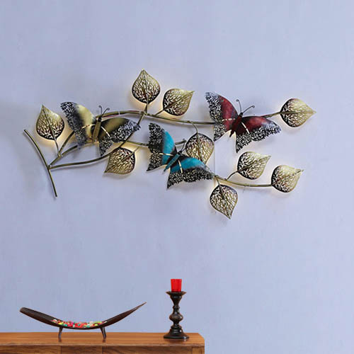 Butterfly Wall Art With Back LED Lights