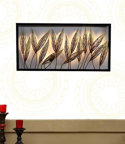 Decorative-Leafs-Frame-Panel-Wall-Decor