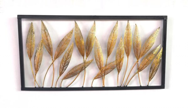 Decorative-Leafs-Frame-Panel-Wall-Decor